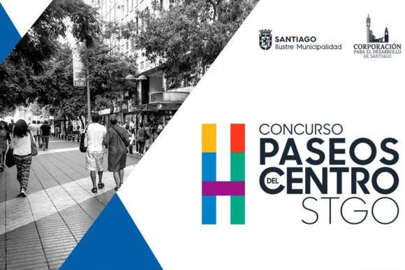 Lanzamiento Concurso para Remodelación de Paseos Peatonales de Santiago