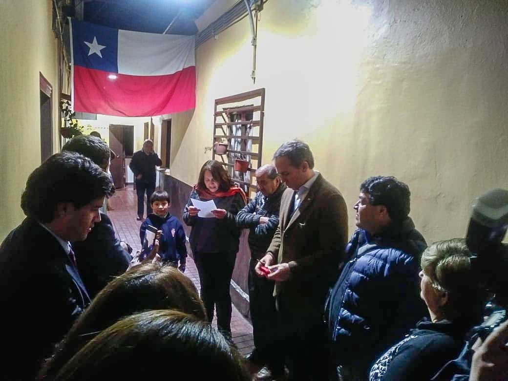 Municipalidad de Santiago inaugura obras de recuperación en cité Roberto Espinoza