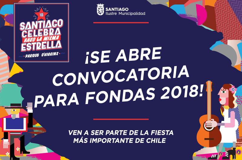 Se abre convocatoria para Fondas Parque O'Higgins 2018