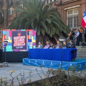 """Lanzamiento Fondas del Parque O´Higgins """"Santiago Celebra Bajo la Misma Estrella 2018"""""""