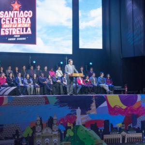 Alcalde Alessandri da inicio a las fondas del Parque O'Higgins