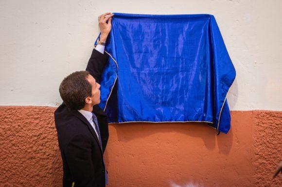 Alcalde Alessandri inaugura obras realizadas en los cités Bulnes