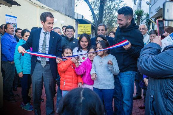 Alcalde Alessandri dio por finalizadas las obras del Pasaje Los Álamos