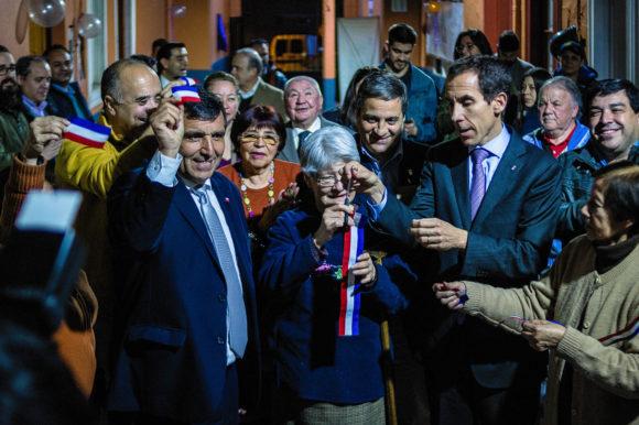 Municipalidad de Santiago inaugura obras de recuperación de cité Santa Elena
