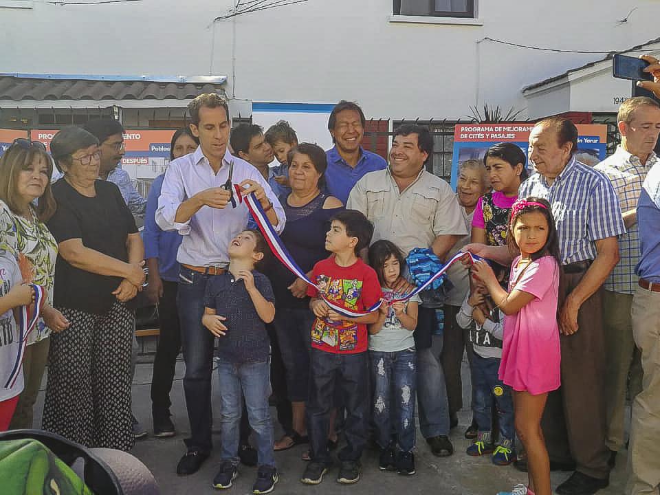 Inauguración Obras en Población Yarur