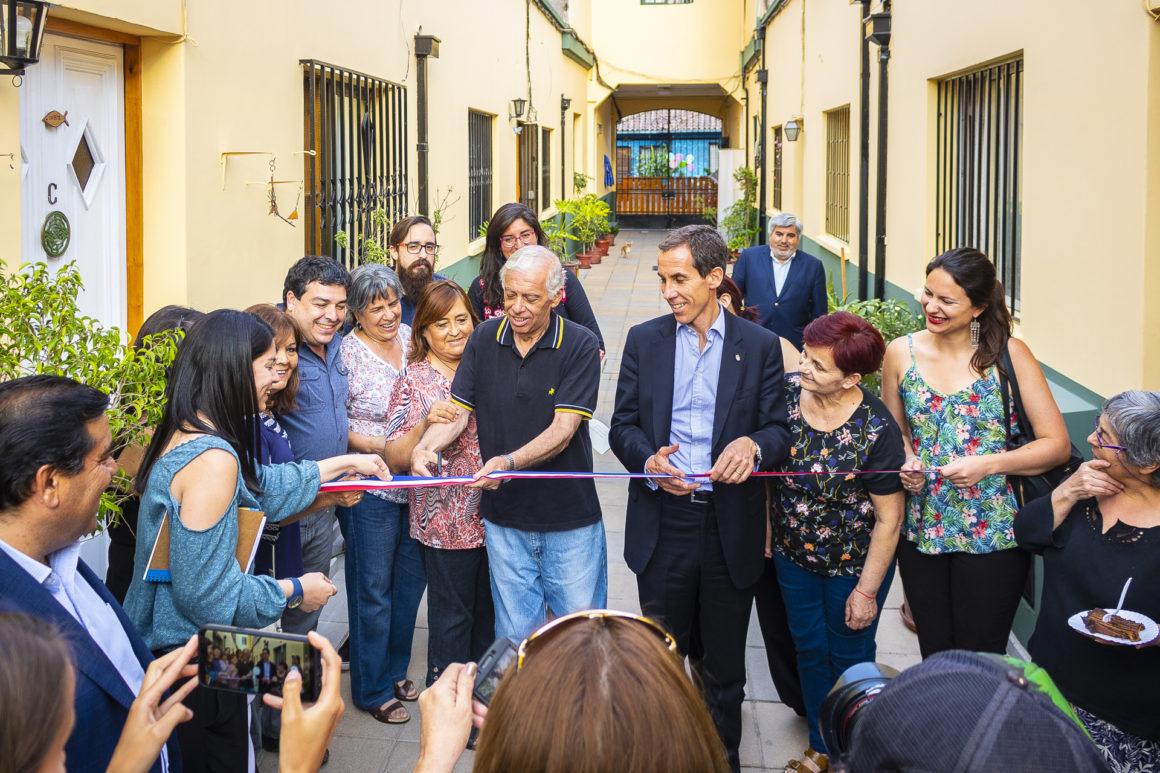 Alcalde Alessandri inaugura cité San Francisco