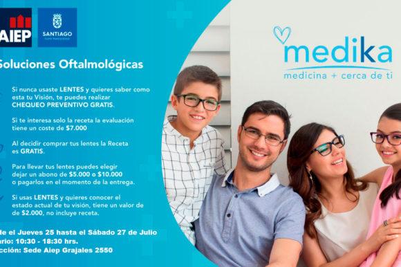 Operativo Oftalmológico Vecinos de Santiago – Aiep-MuniStgo