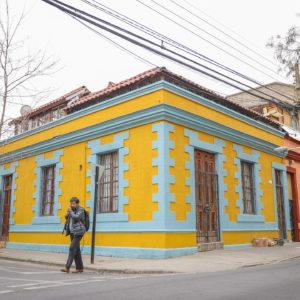 Renovación de Colores en Barrio Franklin y reparación en Teatro Huemul