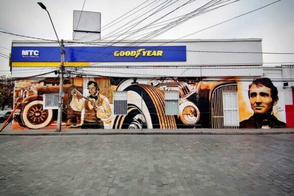 Mural Franklin – San Ignacio – Local Comercial GOOD-YEAR